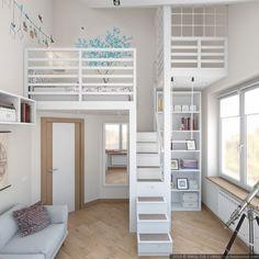 Dos habitaciones infantiles en una