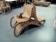 Helen Chair. CNC Project. Elena Cardiel