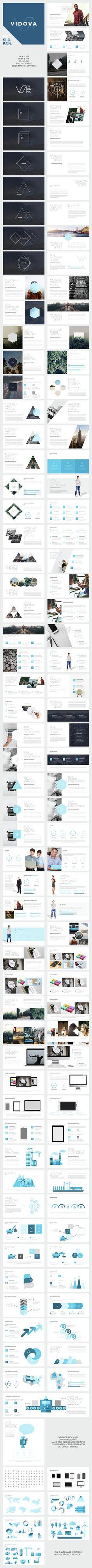 VIDOVA - Modern Powerpoint Presentation (PowerPoint Templates)