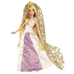 Tangled  Princess as a Bride!  Gift for the Flower Girl