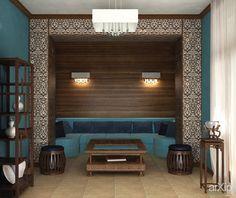 Кальянная: интерьер, квартира, дом, комната отдыха, зона отдыха, ар-деко, стена, 10 - 20 м2 #interiordesign #apartment #house #lounge #sittingarea #artdeco #wall #10_20m2 arXip.com