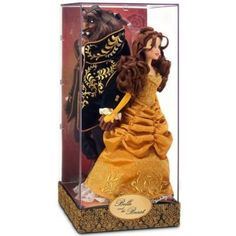 Buy Disney Designer Dolls Fairytale Collection Beauty and the Beast Set! This elegant Designer Collection brings Belle and the Beast together in timeless embrace! Disney Collector Dolls, Disney Barbie Dolls, Disney Princess Dolls, Barbie Doll House, Collection Disney, Designer Collection, Little Girl Toys, Halloween Miniatures, Disney Artists