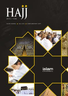 The Islam Channel Hajj Brochure is designed with the intention to inspire, guide and be a source of helpful tips during the month of Hajj. It covers an array of topics and we hope that there is something in the brochure for everyone. Id Card Design, Banner Design, Flyer Design, Layout Design, Graphic Design Brochure, Graphic Design Posters, Poster Layout, Book Layout, Book Cover Design