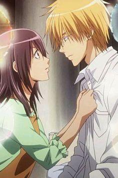 Imagen de anime, kaichou wa maid sama, and misaki