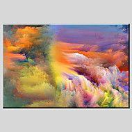 Handgeschilderde+AbstractModern+/+Klassiek+/+Traditioneel+/+Pastoraal+/+Europese+Stijl+Eén+paneel+CanvasHang-geschilderd+–+EUR+€+106.78