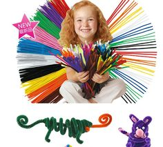 Educational Toys DIY toy Children materials shilly-stick Plush Stick handmade art Christmas Intelligence toys pack of 40pcs #>=#>=#>=#>=#> Click on the pin to check out discount price, color, size, shipping, etc. Save and like it!
