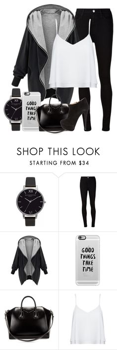 """""""Untitled #1223"""" by thebabybuu on Polyvore featuring Olivia Burton, AG Adriano Goldschmied, Casetify, Givenchy, Alice + Olivia, Giuseppe Zanotti, women's clothing, women's fashion, women and female"""