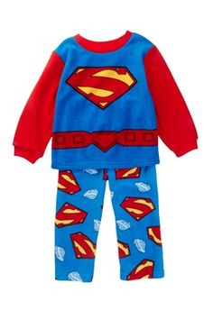 Superman Fleece PJ Set