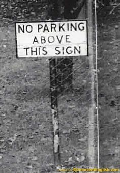 Not sure how you would do it ... but okay! :) #funny #english #signs