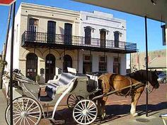 Jefferson, TX.  Neat little town in E TX.  Great place to go visit.