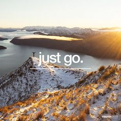 Travel Quotes, Just Go, Wander, Mountains, Beach, Photography, Outdoor, Image, Beautiful