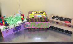 Donated by the American Cancer Society: Caterpillar by Candi Spitz, Friends by Liz Tanner and School Daze 2015 by Michelle Jaminet