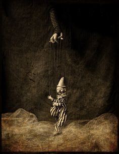 Perhaps as a composite - with strings on me, or someone else... an interesting concept...  Puppeteer