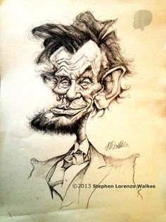ABRAHAM LINCOLN by ~lorenzowalkes on deviantART