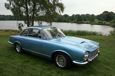 Gordon-Keeble – even more beautiful than the Facel-Vega. Love the little upturned eyes with those twin slant headlights and a great grille. How could you own a car with a really duff grille. Puts me off lots of Japanese cars, they just don't think it through.