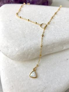 GENUINE Gold Over 925 Sterling Silver Drop Skinny Bar Delicate Necklace UK New