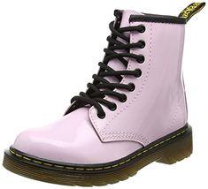 Dr. Martens - Unisex-Child Delaney Juniors Lace Boot, Siz...