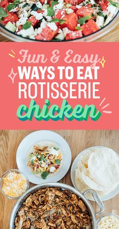 7 Easy Weeknight Recipes That Use Store-Bought Rotisserie Chicken
