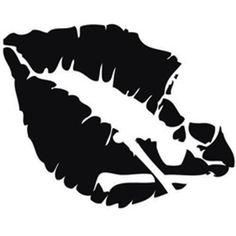 Poison Lips Die Cut Vinyl Sticker – Graffiti World Skull Stencil, Tattoo Stencils, Skull Art, Lip Stencil, Stenciling, Stencil Art, Graffiti Tattoo, Silhouette Cameo Projects, Silhouette Design