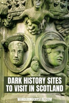 Places to visit with a dark history in Scotland, Creepy places to visit in Scotland, abandoned places in Scotland, Dark History in Scotland, Scottish History, haunted castles in Scotland, Edinburgh Scotland haunted, spooky places in Scotland, Outlander locations, haunted places in Glasgow, Edinburgh Vaults, Glasgow Necropolis, Scottish Highlands, Things to do in Scotland, Scottish ghosts, Culloden Battlefield, #scotland #wanderingcrystal #schottland #escocia #edinburgh #glasgow #culloden