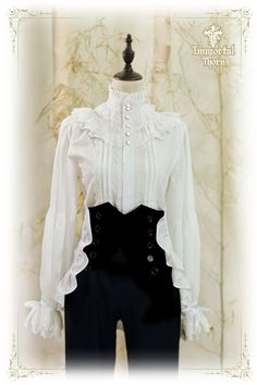 Immortal Thorn -The Forever Prince- Ouji Lolita Blouse