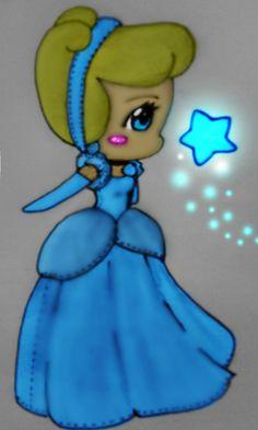 Chibi Cinderella - Update by xXFF7xYaoixX.deviantart.com on @deviantART