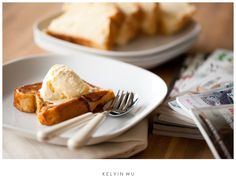 Kelvin Wu Photography Blog: Brioche French Toast with Vanilla Ice Cream