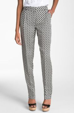 Naples Print Tapered Pants