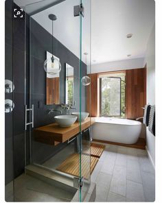 Pin by kacy o'neal on house ideas cottage bathroom design id Cottage Bathroom Design Ideas, Modern Bathroom Decor, Bathroom Interior Design, Modern Interior Design, Bathroom Ideas, Bath Decor, Bathroom Designs, Minimalist Bathroom Design, Modern Cottage Bathrooms