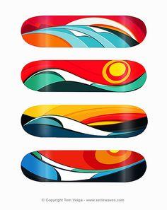 Waveboards by Tom Veiga.