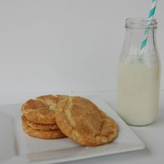 Soft Snickerdoodles.  perfect for Thanksgiving I think