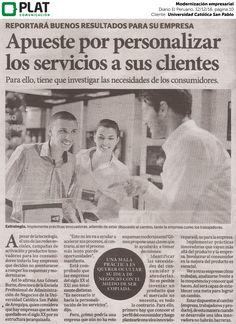 Universidad Católica San Pablo: Modernización empresarial en el diario El Peruano (12/12/16)