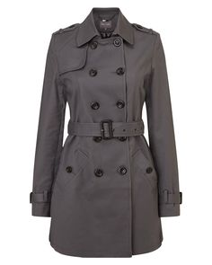 Phase Eight Keeley Trench Coat Grey