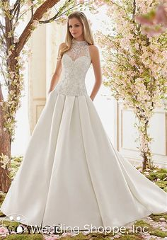 Voyage by Mori Lee Bridal Gown (Skirt Only) / 6844, $238, satin ballgown