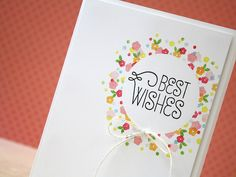 Use those little stamps and create a mask with post it paper