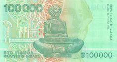 Wertseite: Geldschein-Europa-Mitteleuropa-Kroatien-Dinara-100000-1993