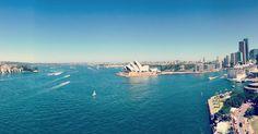 A harbour like no other... #sydney #harbour #circular #quay #quality #views #opera #house #harbour #bridge #skyline #australiagram #seeaustralia #throwback #summer #arvo #aussie #life #thefarsideoftheworld #takemeback #holidaylife #notreally #studyabroad #illbeback by bobthewomble