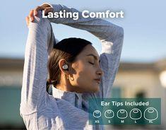 Cleer Audio - Ally Plus, True Wireless Noise Cancelling Earbuds #353 Wireless Noise Cancelling Earbuds, Listening To Music, Gadgets, Audio, Tech, Fancy, Gadget, Technology