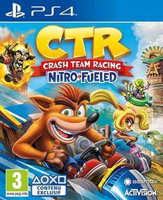 Crash Team Racing Nitro Fueled Nintendo Switch Xbox One Game Crash Team Racing, Karting, Jeux Xbox One, Xbox One Games, Playstation Games, Martini Racing, Crash Bandicoot, Go Kart, Mario Kart