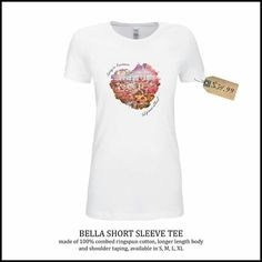 """Customized shirt """"german at heart"""" Bella Short Sleeve Tee made of 100% combed ringspun cotton,longer length body and shoulder taping, available in S, M, L, XL>> Pick the city and state of your choice & your favorite color for only $34.99  GET IT ON  www.facebook.com/powerdsign www.etsy.com/shop/PowerDsign  #shirt #city #seattle #louisiana #fashion #design #art #graphic #adobecreativesuite #media #mediadesign #creative #modern #musthave #white #color #cool #heart #love"""