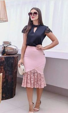 25 Elegant Outfits To Inspire Everyone - Women Fashion Trends Elegant Outfit, Classy Dress, Classy Outfits, Elegant Dresses, Casual Dresses, African Fashion Dresses, African Dress, Modest Fashion, Fashion Outfits