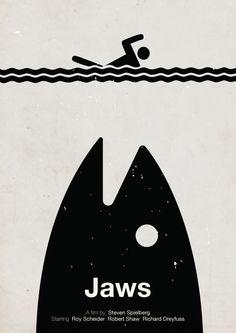 Pôsteres de filmes em pictogramas