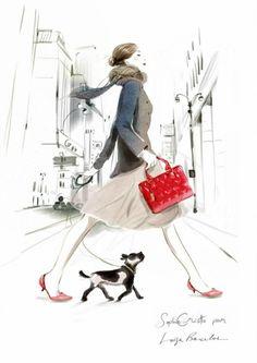 Sophie Griotto, Fashion Illustration