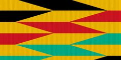 African Kente Kente Cloth, 2 Colours, Clothing Patterns, African, Abstract, Artwork, Project 3, Color, Image