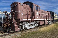 https://flic.kr/p/EKDCqG | Rock Island 743 | Restoration in progress on this beautiful locomotive at the Oklahoma Railway Museum in Oklahoma City.