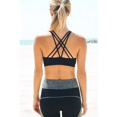 strappy back sports bra wholesale leto activewear yoga wear