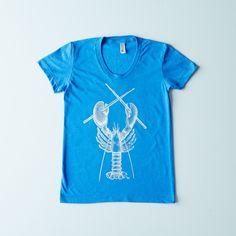 Rock Lobster Women's T-Shirt on Food52