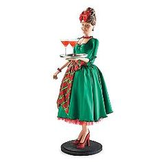 Holly The Hostess Figure  FRONTGATE