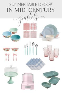 Looking to add a note of summer color to your home this season? This retro summer color palette will add cheer to your summer decor. French Farmhouse Decor, French Home Decor, French Country Decorating, Vintage Home Decor, Country Interior Design, Vintage Interior Design, Small House Decorating, Summer Decorating, Decorating Tips