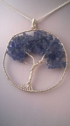 Tanzanite Tree of Life  Purple tree of life  Wire by K8tieSparkles